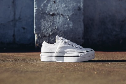 CHUCK TAYLOR ALL STAR PLATFORM OX WHITE