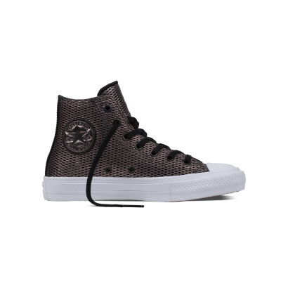 CHUCK TAYLOR ALL STAR II PERF. METALLIC HI BLACK