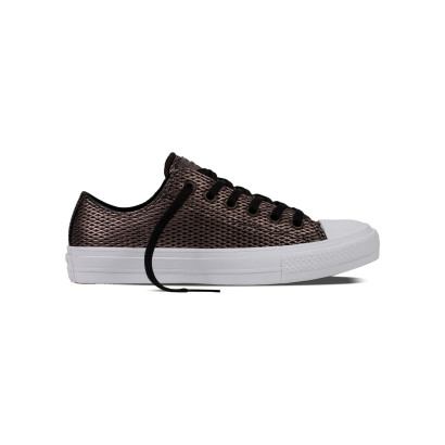 CHUCK TAYLOR ALL STAR II PERF. METALLIC OX BLACK