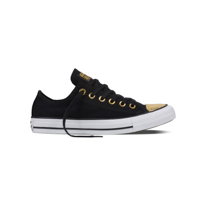 CHUCK TAYLOR ALL STAR METALLIC TOECAP OX BLACK