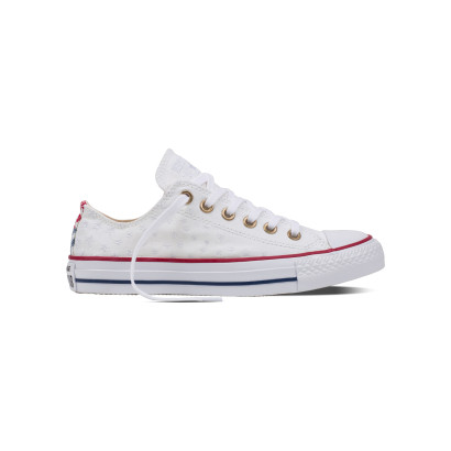 CHUCK TAYLOR ALL STAR AMERICANA EMBROIDERY OX WHITE