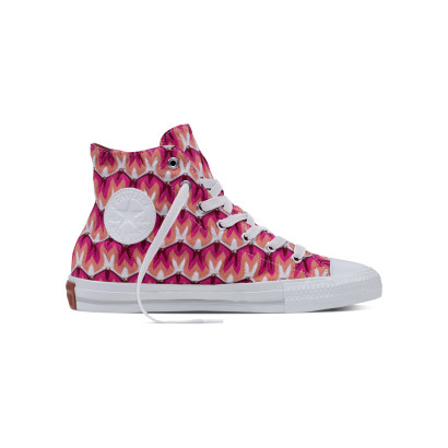 CHUCK TAYLOR ALL STAR GEMMA MISSONI HI RED