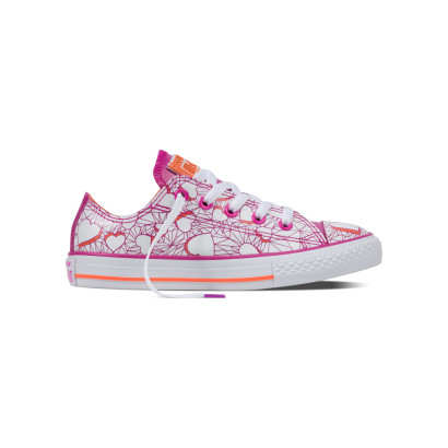 CHUCK TAYLOR ALL STAR OX VALENTINES MESSAGE (JUNIOR)