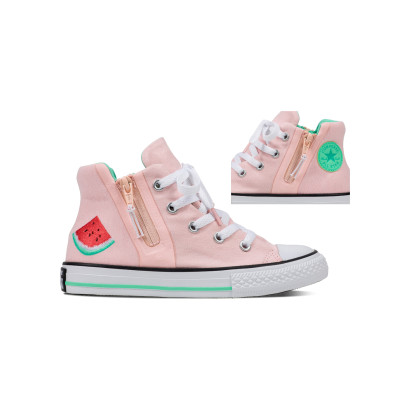 CHUCK TAYLOR ALL STAR SPORT ZIP HI PINK (JUNIOR)