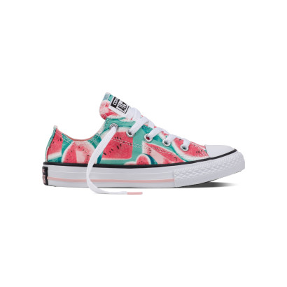 CHUCK TAYLOR ALL STAR OX WATERMELLON (JUNIOR)