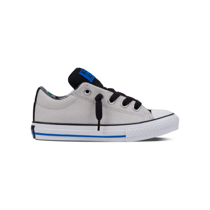 CHUCK TAYLOR ALL STAR STREET OX GREY (JUNIOR)