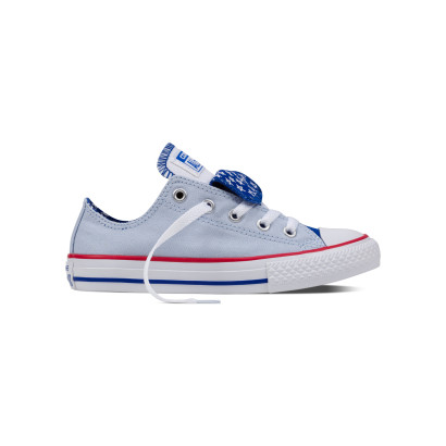 CHUCK TAYLOR ALL STAR DOUBLE TONGUE OX BLUE (JUNIOR)