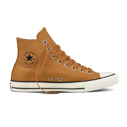 CTAS TUMBLE LEATHER HI CAMEL