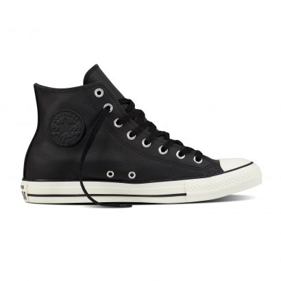 CTAS TUMBLE LEATHER HI BLACK