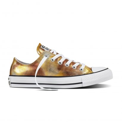 CTAS WASHED METALLIC CANVAS OX GOLD