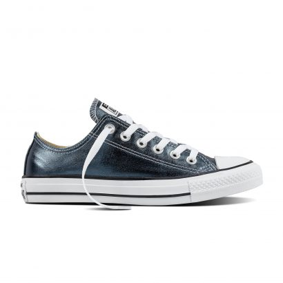 CTAS METALLIC CANVAS OX BLUE