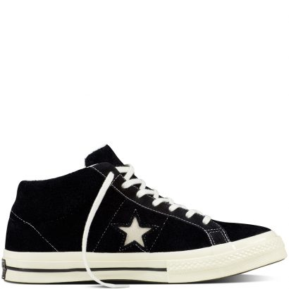 ONE STAR VINTAGE SUEDE MID BLACK