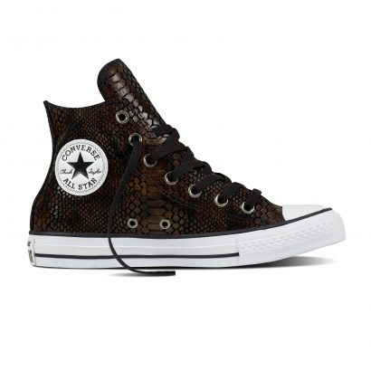CTAS FASHION SNAKE HI BROWN