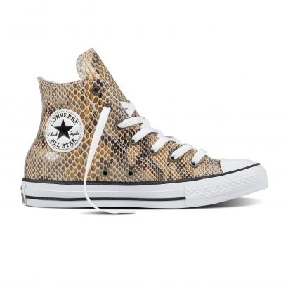 CTAS FASHION SNAKE HI BEIGE