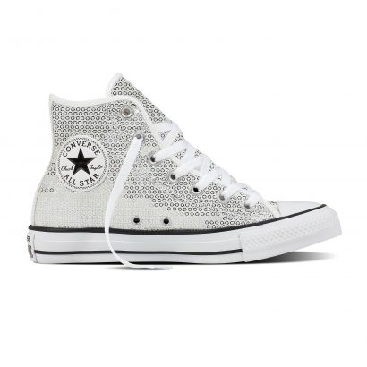 CTAS SEQUINS HI WHITE