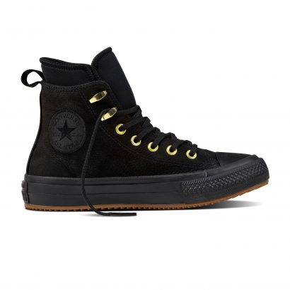 CTAS WP NUBUK BOOT HI BLACK