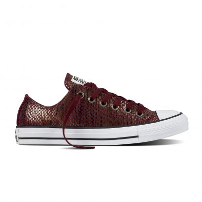 CTAS FASHION SNAKE HI DARK SANGRIA