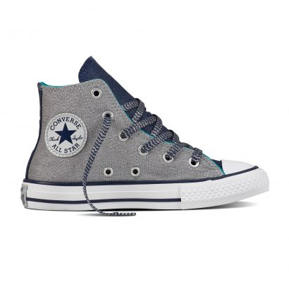 CTAS SHINE+SHIMMER HI GREY (JUNIOR)