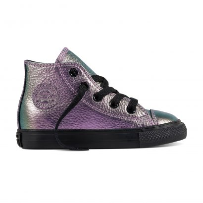 CTAS IRIDESCENT LEATHER HI VIOLET (INFANT)