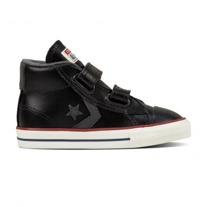 CONS STAR PLAYER EV V MID BLACK (INFANT)