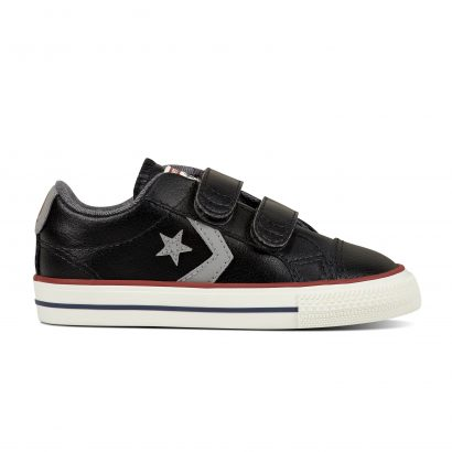 CONS STAR PLAYER EV V OX BLACK (INFANT)