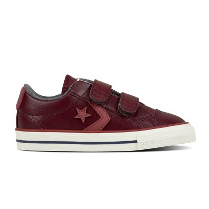 CONS STAR PLAYER EV V OX DARK SANGRIA (INFANT)