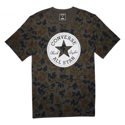 MEN CONVERSE CHUCK PATCH CAMO TEE