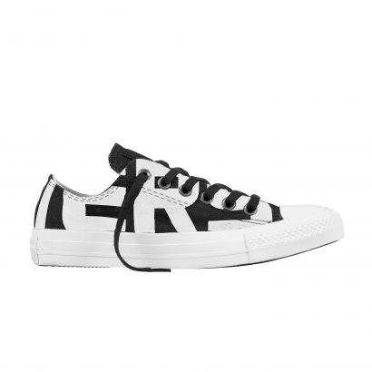 CTAS CONVERSE WORDMARK OX BLACK