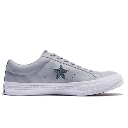 ONE STAR CONVERSE PINSTRIPE OX GREY
