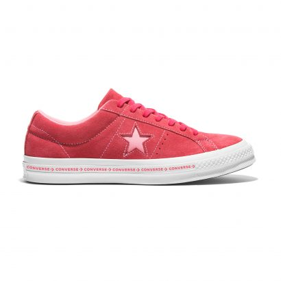 ONE STAR CONVERSE PINSTRIPE OX RED