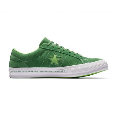 ONE STAR CONVERSE PINSTRIPE OX GREEN