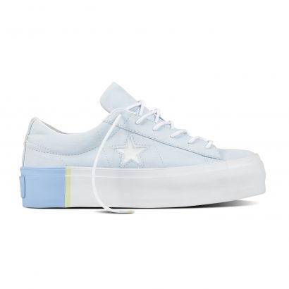 ONE STAR PLATFORM TRI-BLOCK MIDSOLE OX BLUE