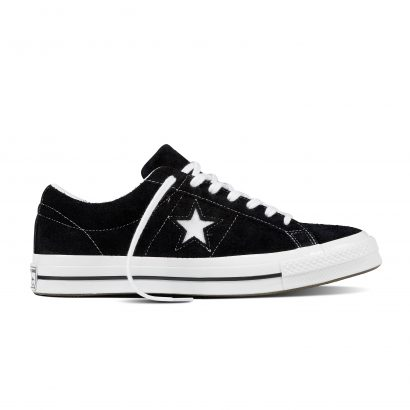 ONE STAR SUEDE SKATE OX BLACK