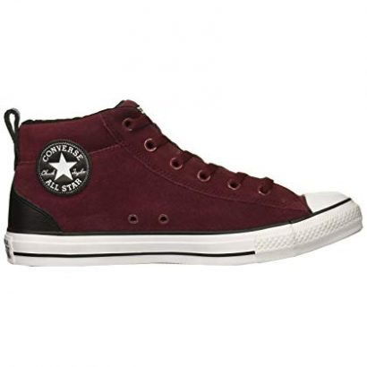 CTAS STREET LEATHER MID DARK BURGUNDY
