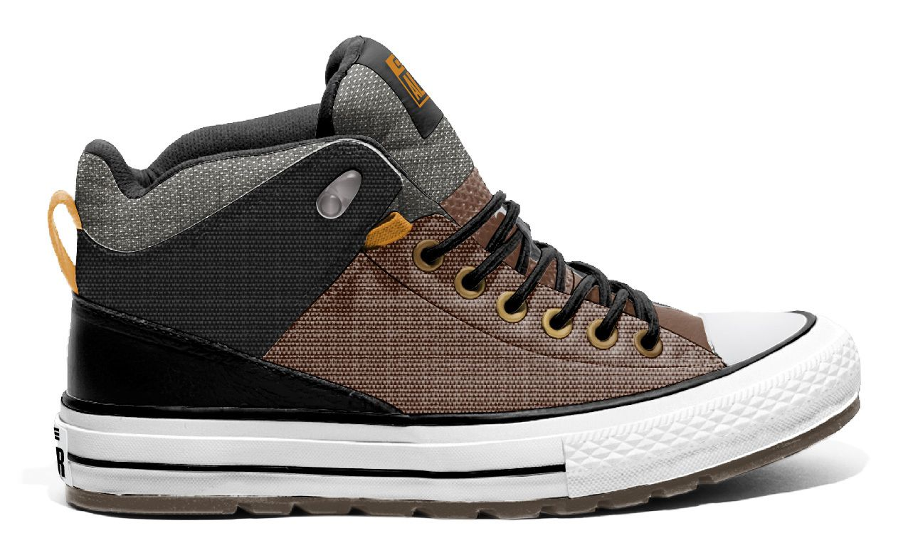 CTAS STREET BOOT HI CHESTNUT BROWN