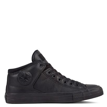 CTAS HIGH STREET POST GAME LEATHER HI BLACK