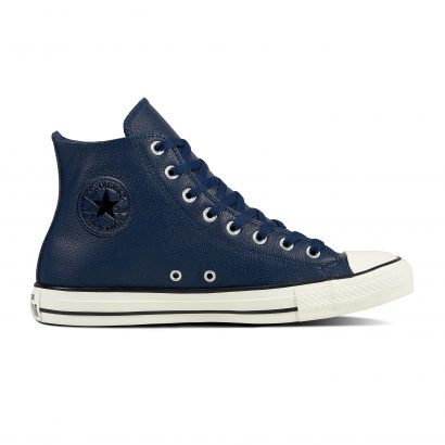 CTAS LEATHER HI NAVY BLUE