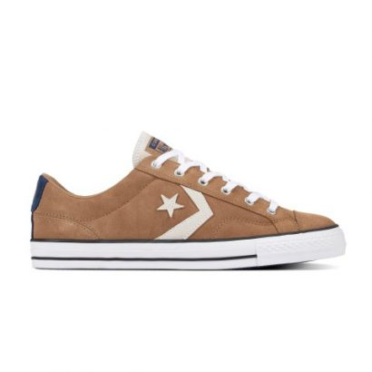 STAR PLAYER ATHLETIC SUEDE OX TEAK BROWN