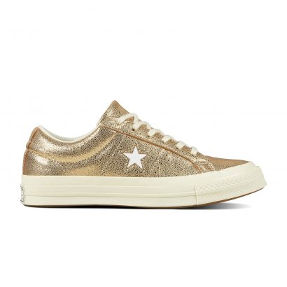 ONE STAR HEAVY METALLIC LEATHER OX GOLD