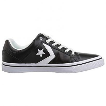 CONVERSE EL DISTRITO SYNTHETIC LEATHER OX BLACK