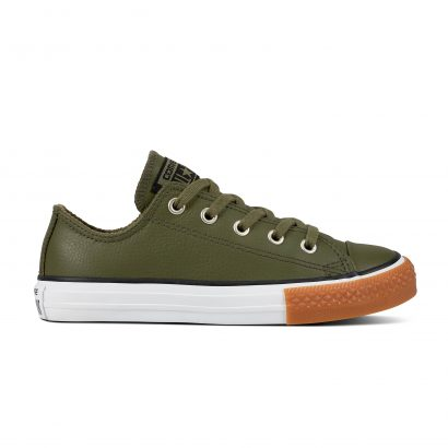 KIDS CTAS LEATHER OX KHAKI