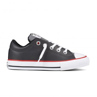 KIDS CTAS STREET LEATHER SLIP GREY