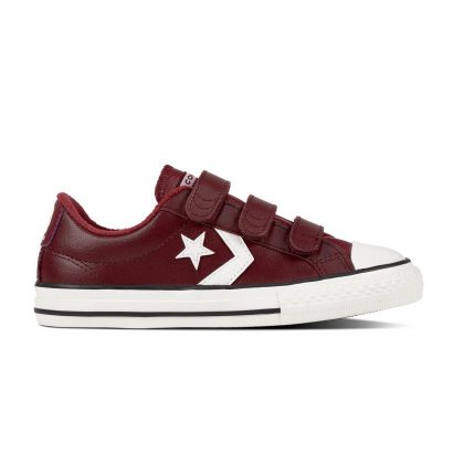 KIDS STAR PLAYER EV V LEATHER OX DARK BURGUNDY