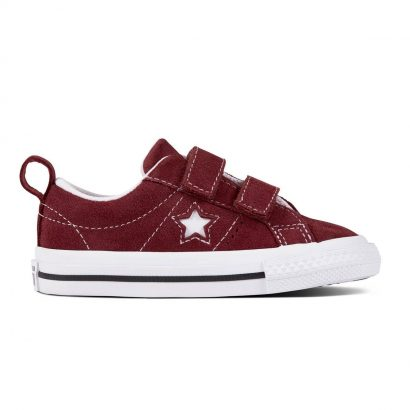 KIDS ONE STAR 2V VINTAGE SUEDE OX DARK BURGUNDY