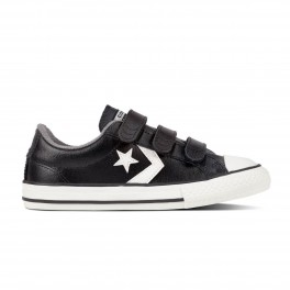KIDS STAR PLAYER EV V LEATHER OX BLACK