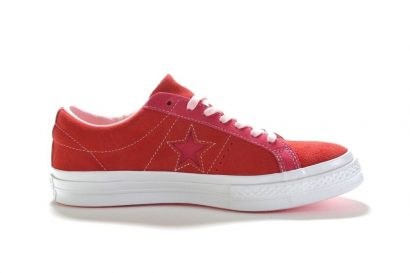ONE STAR VINTAGE SUEDE OX ENAMEL RED