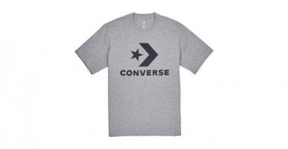 MEN CONVERSE STAR CHEVRON TEE GREY