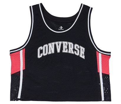 WOMEN CONVERSE BDALL MID JERSEY SLEEVELESS BLACK