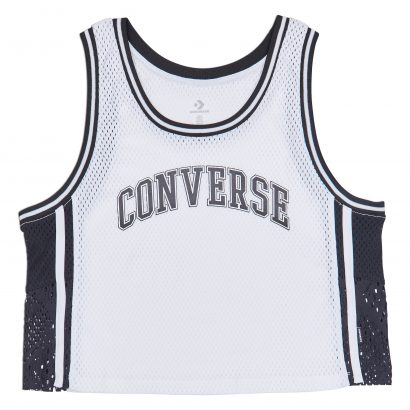 WOMEN CONVERSE BDALL MID JERSEY SLEEVELESS WHITE