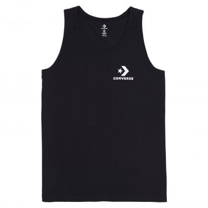 MEN CONVERSE STAR CHEVRON TANK SLEEVELESS BLACK